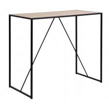 Stół barowy Seaford 120x60 cm dąb industrialny