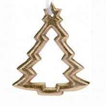 Ozdoba wisząca Christmas Tree złota