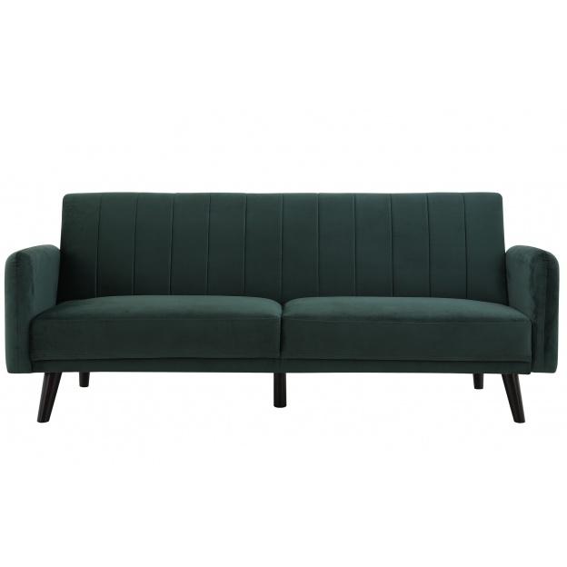 Sofa tapicerowana Temmelig ciemnozielona