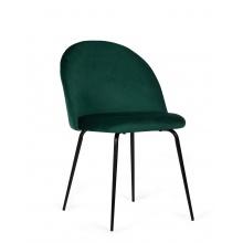 Krzesło do jadalni Malaga zielone welur