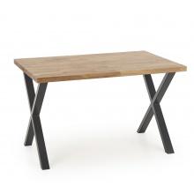 Stół na krzyżakach Apex 120x78 cm industrialny do jadalni