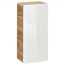 Szafka łazienkowa dolna Aruba 75x35x22 cm biały bianco/dąb craft złoty