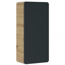 Szafka łazienkowa dolna Aruba 75x35x22 cm dąb artisan/czarny mat