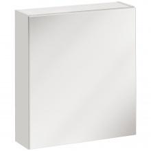 Szafka do łazienki z lustrem Twist 50 cm biała