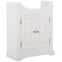 Szafka łazienkowa pod umywalkę Romantic 81x66 cm biała