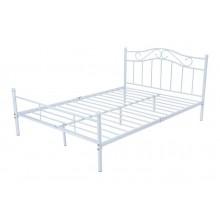 Łóżko metalowe Dust 160x200 biały