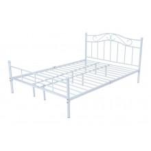 Łóżko metalowe Dust 180x200 biały