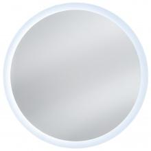 Okrągłe lustro wiszące z LED Venus 80 cm