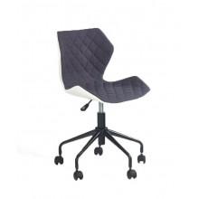 Fotel obrotowy Matrix popiel-biały