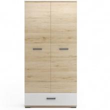 Szafa dwudrzwiowa Loppa 80 cm z szufladą
