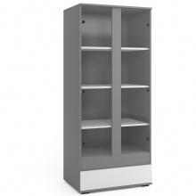 Witryna stojąca Torino 80 cm z szufladą