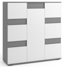 Komoda do salonu 120 cm Torino z szufladami