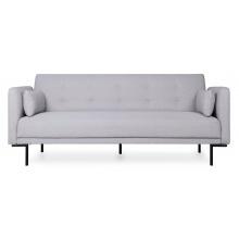 Rozkładana sofa trzyosobowa Amber szara nowoczesna