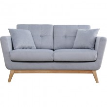Sofa dwuosobowa Ulv jasno szara