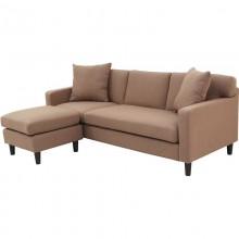 Sofa wyjątkowa trzyosobowa Jord brązowa