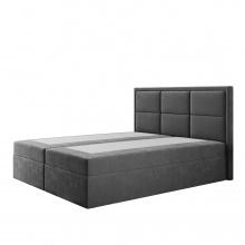 Łóżko kontynentalne Maro 140/160/180x200 cm z 2 pojemnikami