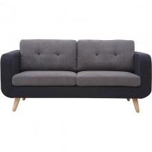 Sofa premium dwuosobowa Verdure szara