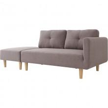 Sofa premium trzyosobowa Gale szara