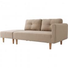 Sofa premium trzyosobowa Gale beżowa