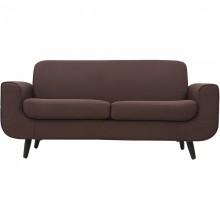 Sofa premium dwuosobowa Lige brązowa