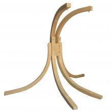 Drewniany stojak do podwójnego fotela wiszącego