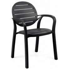 Krzesło ogrodowe Nardi Palma antracytowe