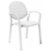 Krzesło ogrodowe Nardi Palma bianco