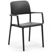 Krzesło ogrodowe Nardi Riva antracytowe