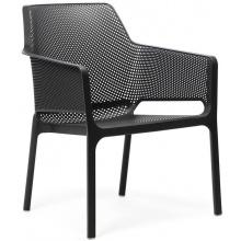 Krzesło ogrodowe Net Relex antracytowe