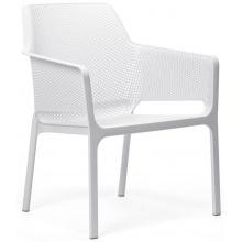 Krzesło ogrodowe Net Relax bianco