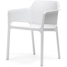 Krzesło ogrodowe Net bianco