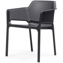 Krzesło ogrodowe Net antracyt
