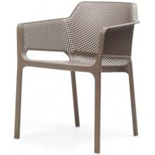 Krzesło ogrodowe Net tortora jasnobrązowe