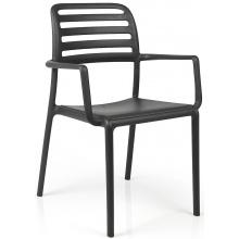 Krzesło ogrodowe Nardi Costa antracytowe
