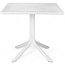 Stół ogrodowy Nardi Clip 70 bianco