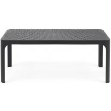 Niski stolik ogrodowy Nardi Net Table 100 antracytowy