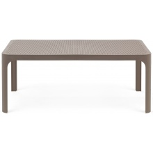 Niski stolik ogrodowy Nardi Net Table 100 bianco