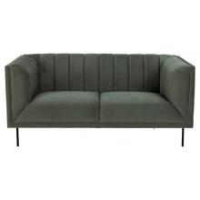 Sofa dwuosobowa Pasadena szarozielona