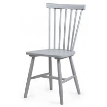 Krzesło drewniane patyczak Edgardo szare