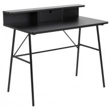Biurko z nadstawką Pascal czarne