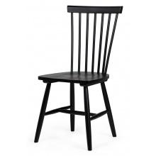 Krzesło drewniane patyczak Edgardo czarne