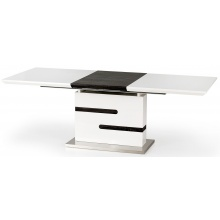 Stół rozkładany Monaco 160-220 cm biały/szary