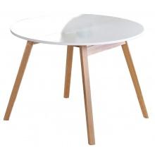 Stół rozkładany Ruben 102-142x75 cm biały