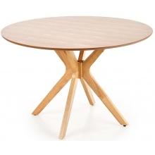 Stół okrągły Nicolas 120 cm dąb naturalny