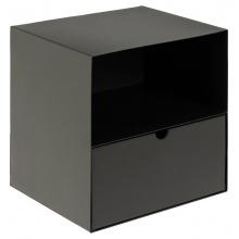 Szafka nocna z szufladą Joliet czarna