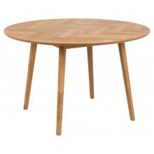 Stół okrągły Nagano dąb jodełka