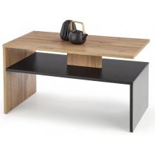 Ława kawowa z półką Sigma 90x50 cm dąb wotan/czarny
