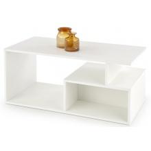 Ława kawowa z półką Combo 110x55 cm biała