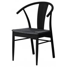 Krzesło drewniane Janik dąb czarne