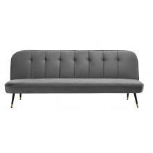 Sofa rozkładana Walt szara welur